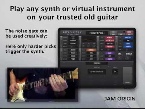 MIDI Guitar for iOS and MIDI Guitar for GarageBand – Jam Origin