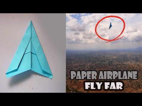 How to make a paper airplane - BEST paper planes that FLY FAR | PAPER PLANES