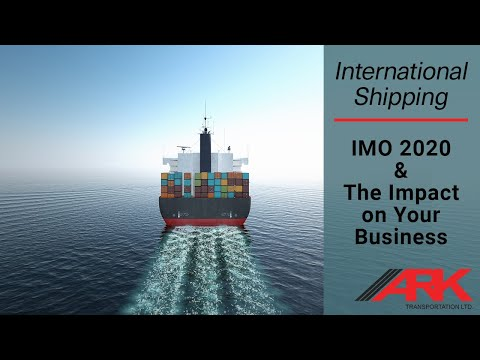IMO 2020 & The Impact On Your Business