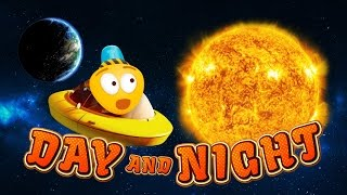 Learn the Solar System | Day and Nite Cartoon for Kids | Space for Kids