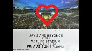 Jay Z & Beyonce - Crazy in Love @ Metlife Stadium on 08.03.18 Rock n Roll Reality King Hits