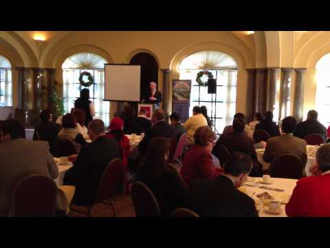 Speaker at Impresarios Event at Sonterra Country Club November 29th 2011