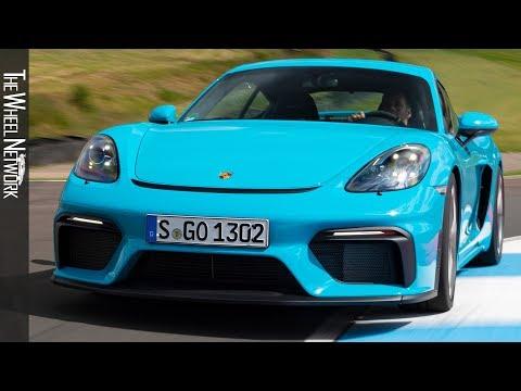 2020-porsche-718-cayman-gt4-|-miami-blue-|-driving,-interior,-exterior