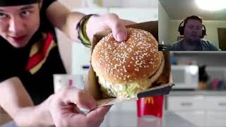 Fastest Grand Mac Meal Ever Eaten Reaction!!!
