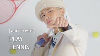 PLAY, TENNIS ㅣ 엣지 있는 피케 셔츠