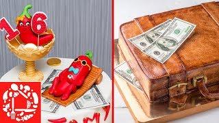 Удивительные Торты: 3 СУПЕР Идеи! Красивые Торты для Мужчин от 16 до 100 лет!
