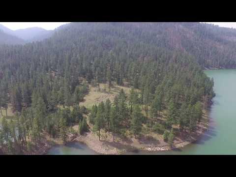 Pactola SD DJI Phantom 3 Standard lake footage