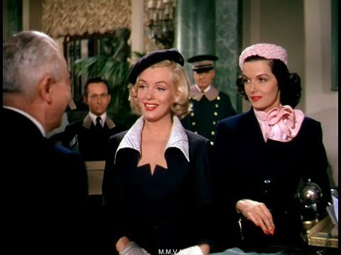 """Marilyn Monroe And Jane Russell In """"Gentlemen Prefer Blondes"""" -  """" I'm Going To Keep It"""""""