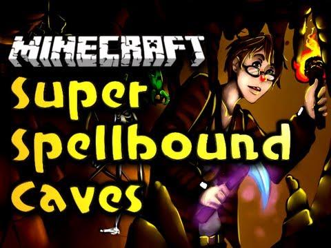 """Minecraft Super Spellbound Caves - Ep. 1 - """"ROOT BEER CELEBRATION!"""" [Super Hostile] (HD)"""