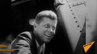 Убийство 35-го президента США Джона Кеннеди. Архивные кадры
