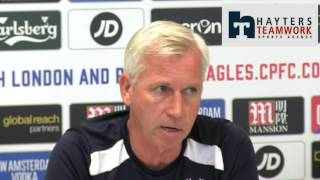 Palace my focus insists Pardew