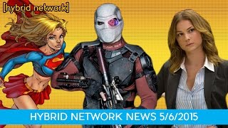 Ayer Talks Suicide Squad, Agent 13 in Civil War, and Supergirl Series Order,