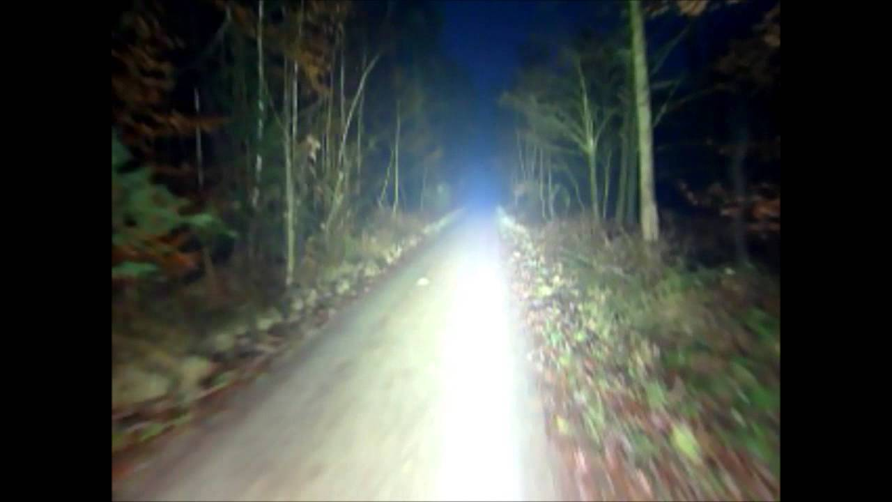 360w Led 400w Hid Spot Bicycle Light Not Really A Nightride