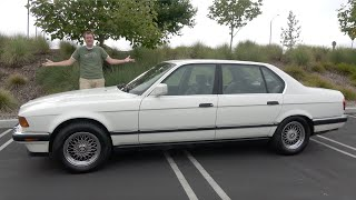 The BMW 750iL Was BMW's V12 Flagship Luxury Sedan From 30 Years Ago
