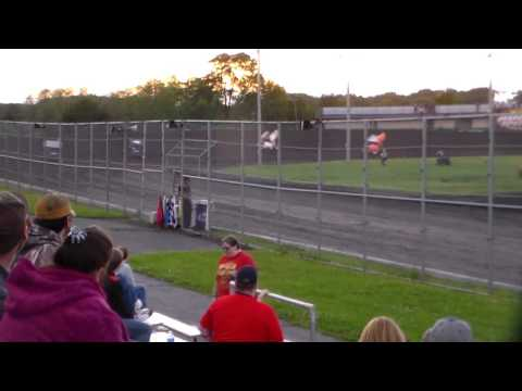 305 Sprint Car Heat 1 @ Boone Speedway 05/27/17