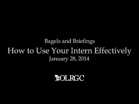 How to Use Your Intern Effectively