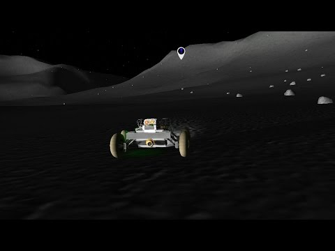 Reusable KSP 24 - Roving Mun's Polar Crater