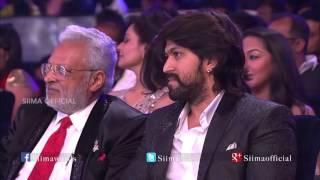 Micromax Siima 2015 | Best Playback Singer (Male) Kannada | Rajesh Krishnan