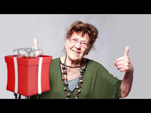 Подарок бабушке на день рождения и 8 марта