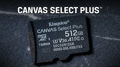 Android Smartphone and Tablet microSD Card – Canvas Select Plus microSD – Kingston Technology