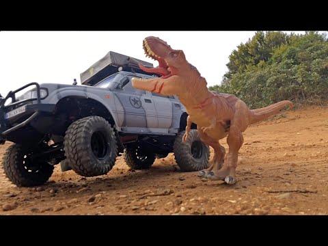 RC 1/9 Toyota Landcruiser ARCTIC TRUCK In Jack's Jurassic WORLD