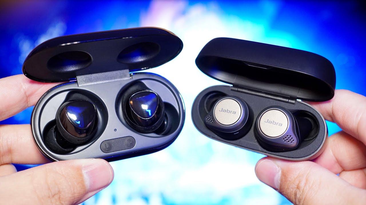 Jabra Elite 75t Vs Samsung Galaxy Buds Jabra Wins Youtube