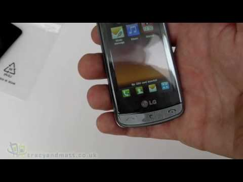 LG GD900 Crystal unboxing video