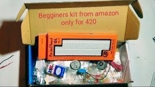 unboxing of Electronic Components kit for beginners from #amazon only for 420 rupees