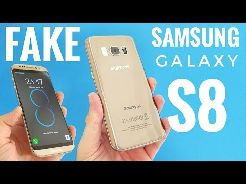 FAKE Samsung Galaxy S8 Unboxing - This is how the S8 will look like!