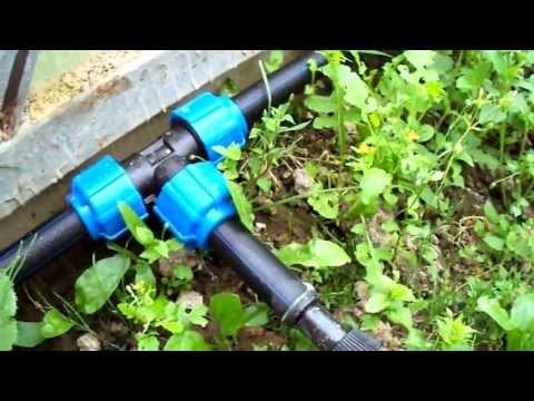 видео: капельный полив своими руками