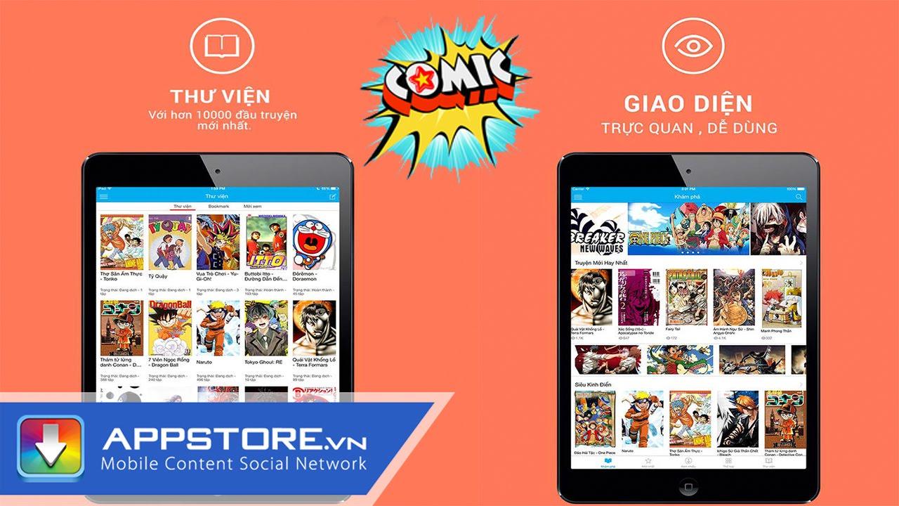 ComicVN – Đọc truyện tranh 18 + online – AppStore.Vn