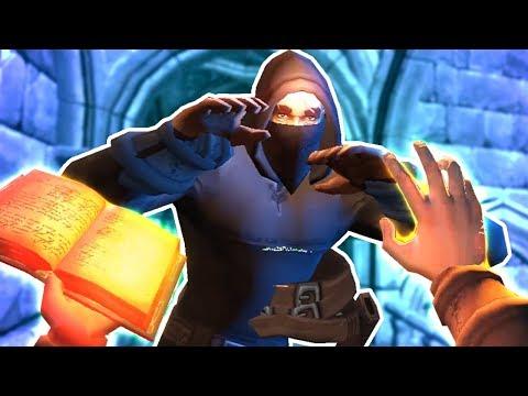 ДВА ДРУГА ПРОХОДЯТ ПОДЗЕМЕЛЬЕ В ВИРТУАЛЬНОЙ РЕАЛЬНОСТИ! - VR Dungeon Knight