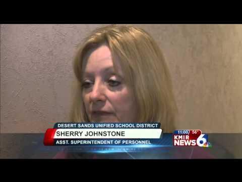 Desert Sands Teachers Facing Layoffs - YouTube
