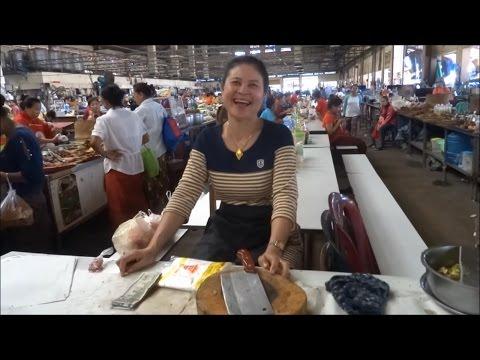 Pakse, Laos, Huge Market  Talat Dao Heuang