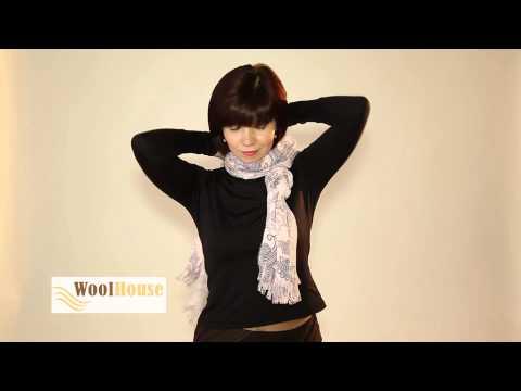Искусство завязывания шарфов от WoolHouse