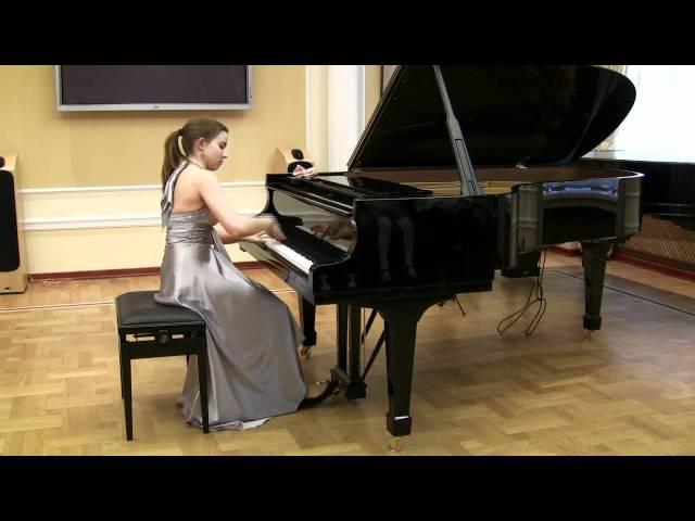 M.Moszkowski. Etude No.2 in G minor, op.72.