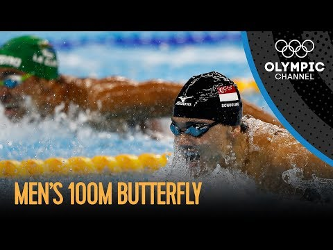 Men's 100m Butterfly Final | Rio 2016 Replay