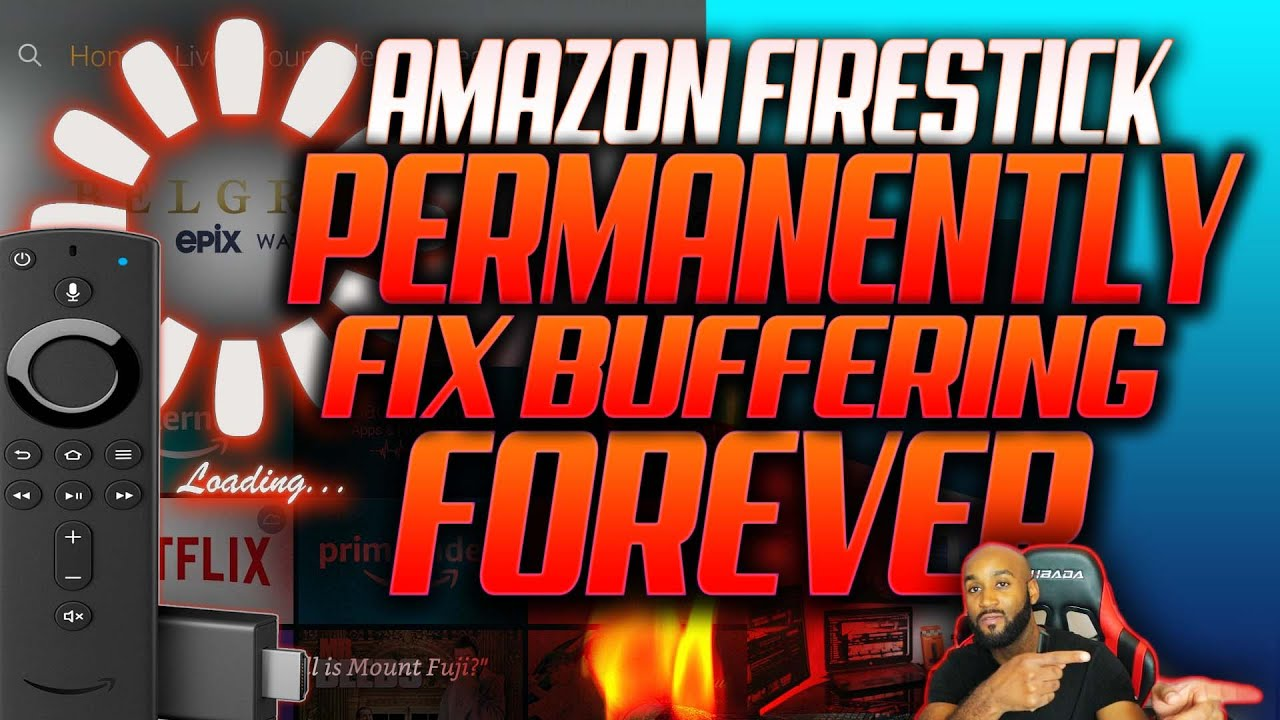3 HIDDEN AMAZON FIRESTICK SETTINGS TO FIX BUFFERING FOREVER | BUFFERING PERMANENT FIX
