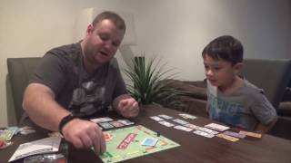 Mini Hasbro Games plus Showing Youngins How to Play Monopoly [SDFG]