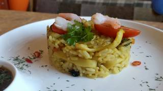 Вкусно и полезно / Рис с морским коктейлем / Плов с морепродуктами