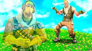 Fortnite: TROLLEI MY FRIENDS WITH the BUG OF STAYING INVISIBLE! BASHFUL