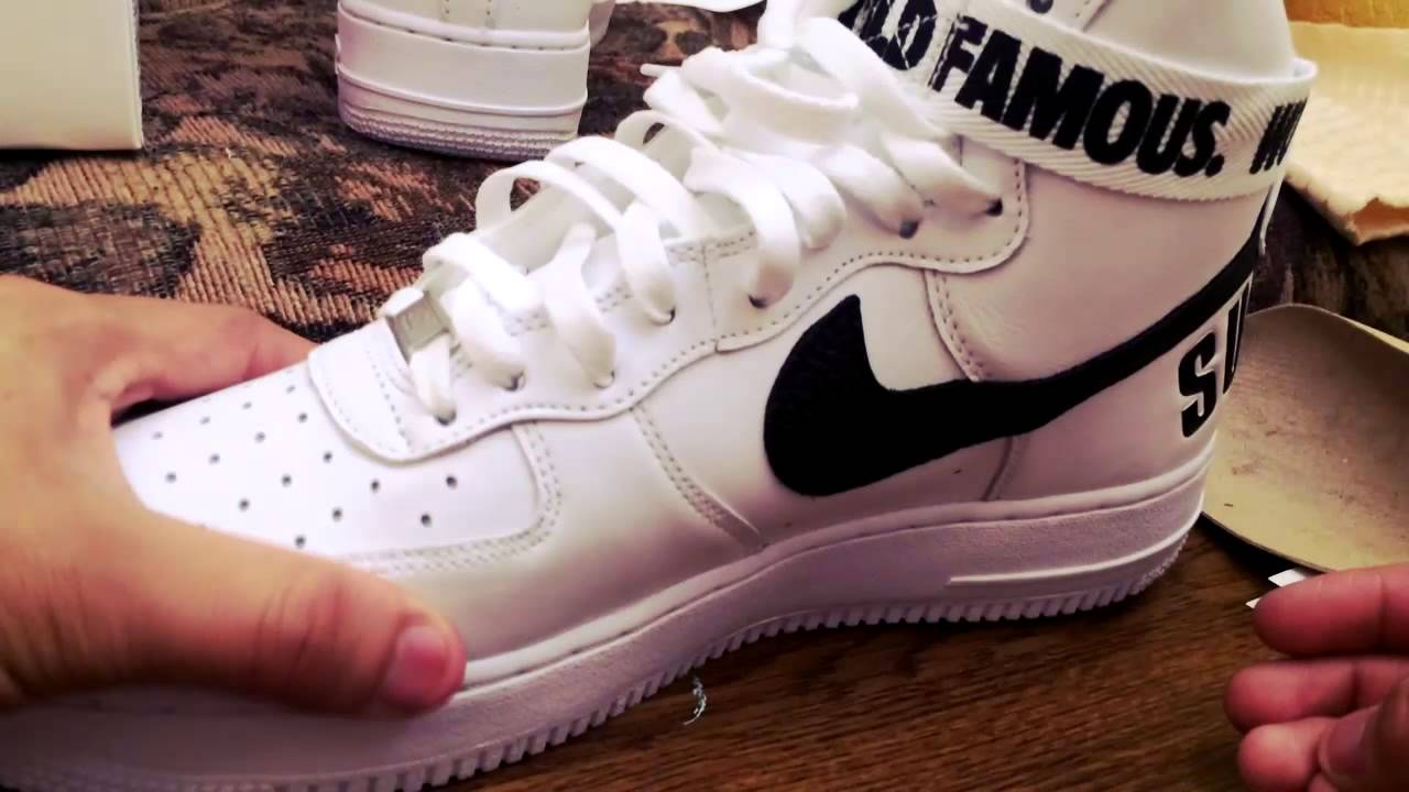 Supreme x Nike Airforce 1 High | Unboxing and On Feet