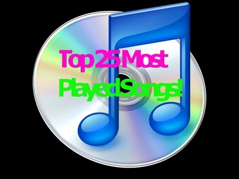 Top 25 Most Played Songs!