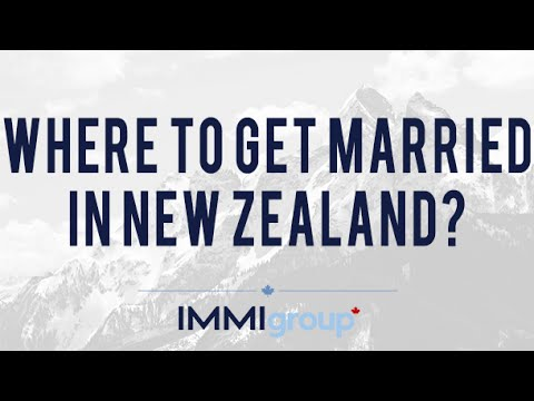 Where to get married in New Zealand?