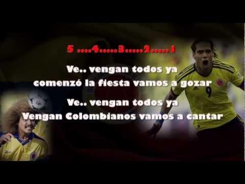 Fiesta Selección Colombia Karaoke - Grupo Raices