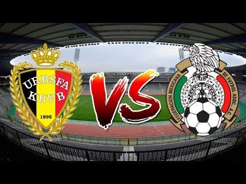 BELGICA VS MEXICO AMISTOSO 10/11/2017