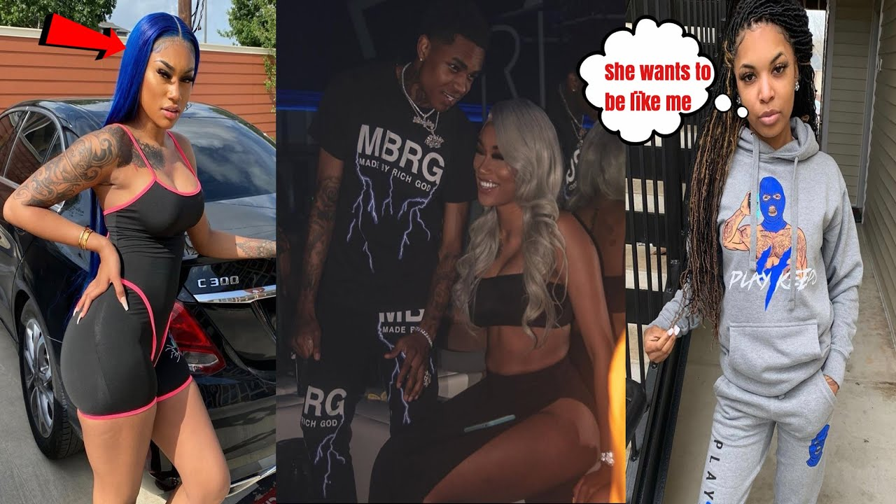Nba youngboy Ex B00 B.dollas Take SH0TS At Jania   Jania Is Moving In W/ Her B00 YBN Almighty Jay❓