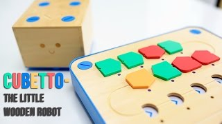 Cubetto- The Little Wooden Robot.