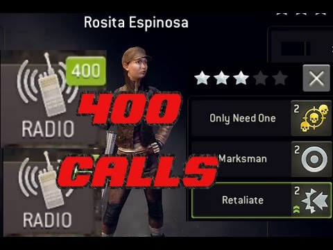 The Walking Dead : No Man's Land 400 radio calls Rosita Espinosa