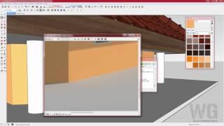 06 Vray SketchUp Bahasa Indonesia - Membuat Material Dinding Vray SketchUp